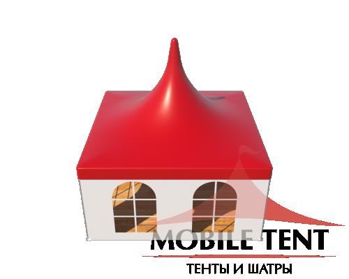 Шатры Пагода с острой крышей Стандарт 5х5 Схема