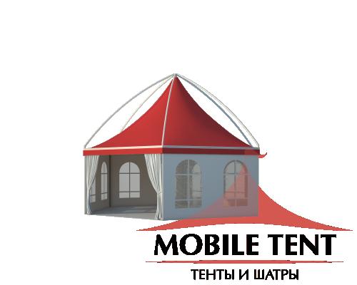 Шестигранный шатёр Лондон (Диаметр 8 м) Схема 1