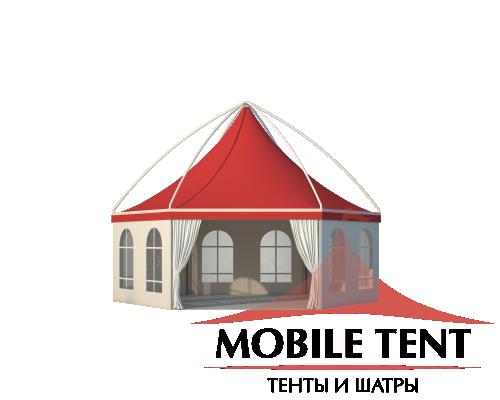 Шестигранный шатёр Лондон (Диаметр 8 м) Схема 3