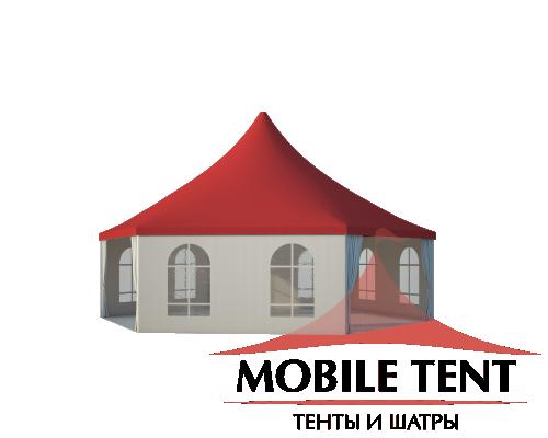 Шестигранный шатёр Римини (Диаметр 10 м) Схема 1