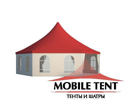 Шестигранный шатёр Римини (Диаметр 10 м) Схема 2