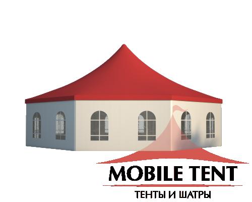 Шестигранный шатёр Римини (Диаметр 15 м) Схема 2