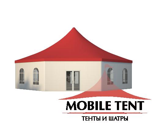Шестигранный шатёр Римини (Диаметр 15 м) Схема 3