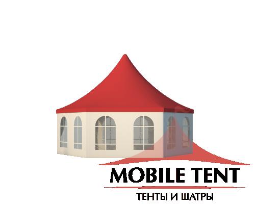 Шестигранный шатёр Римини (Диаметр 8 м) Схема 2