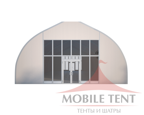 Тентовый ангар 10х20 Схема 1
