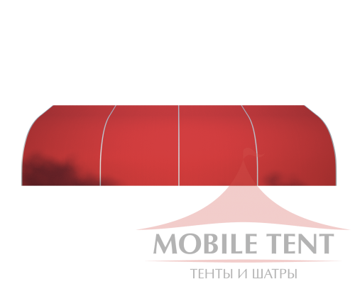 Тентовый ангар 10х20 Схема 2
