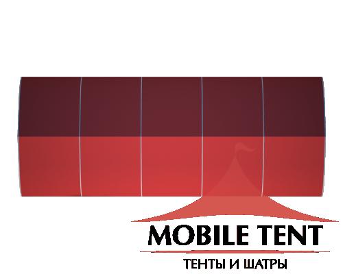 Тентовый ангар 10х25 Схема 4
