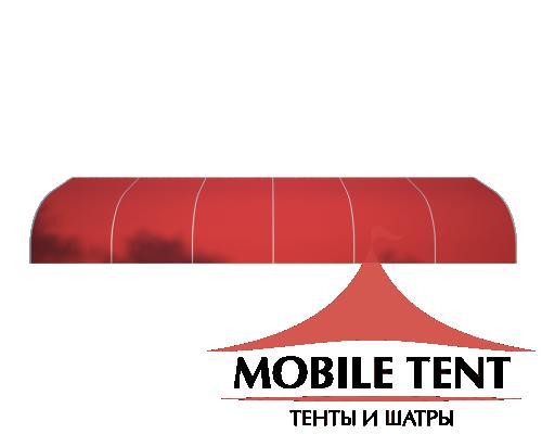 Тентовый ангар 10х30 Схема 3