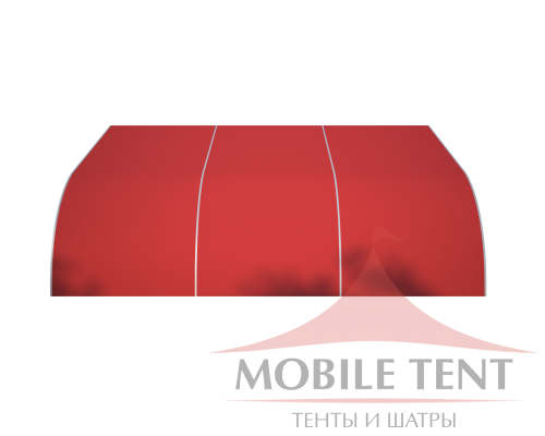 Тентовый ангар 15х15 Схема 2
