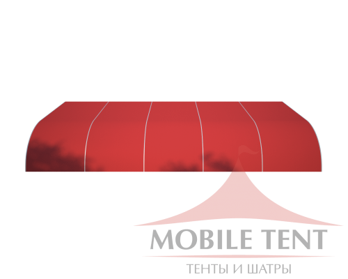 Тентовый ангар 15х25 Схема 2