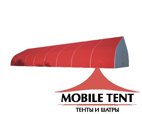 Тентовый ангар 15х40 Схема 1