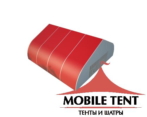 Тентовый ангар 20х20 Схема