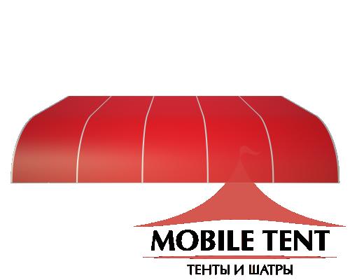 Тентовый ангар 20х25 Схема 3