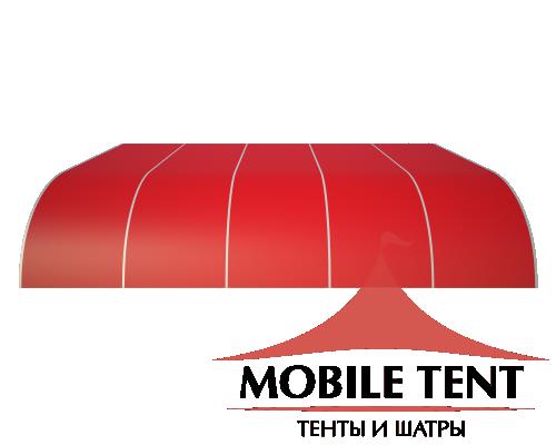 Тентовый ангар 25х25 Схема 2