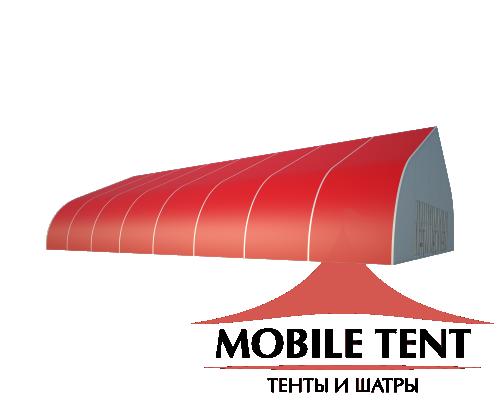 Тентовый ангар 25х40 Схема 1
