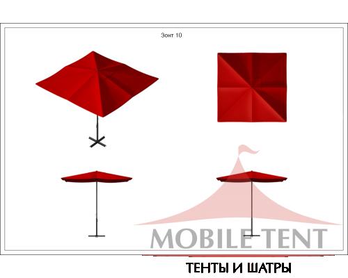 Зонт Desert 5x5 Схема 1