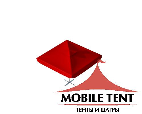 Зонт уличный для кафе Premium 3х3 Схема
