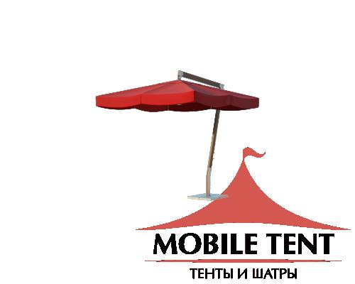 Зонт Premium Side 2х2 Схема 2