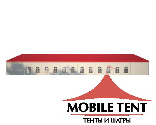 Классический шатёр 20х40 Схема 3