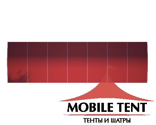 Шатёр для мероприятий 10х35 Схема 4