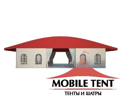 Шатёр для выставок 15х15 Схема 2