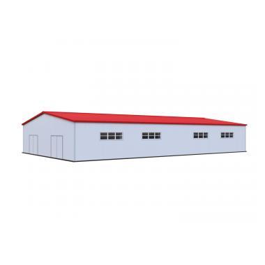 Каркасный ангар 30х50 м Схема