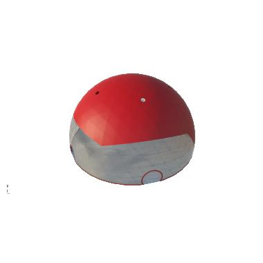 Сферический шатер диаметр 30 м