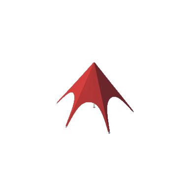 Шатёр Звезда (Диаметр 8 м)