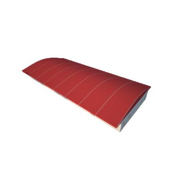 Шатёр для выставок 15х40 Схема