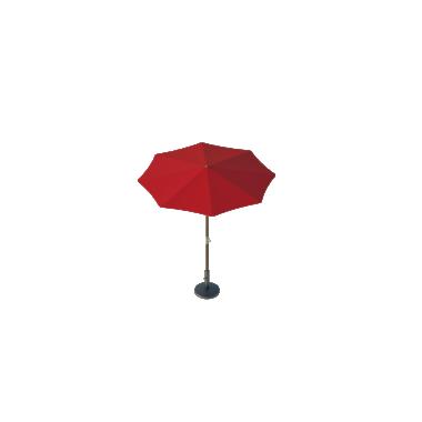 Зонт Standart диаметр 2 Схема