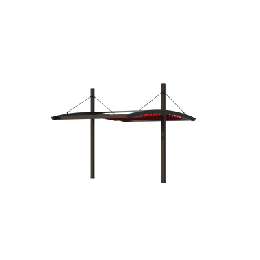 Пергола Двойная Подвесная 6х8 Схема