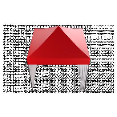 Мобильный шатёр Slim Prof 3х3 Схема
