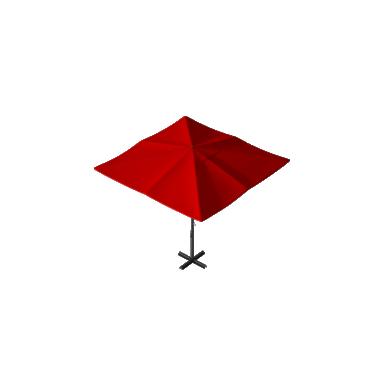 Зонт для кафе Desert 3х3 Схема