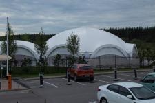 Арочный шатер для «Ольшанец-Парк Фотогалерея