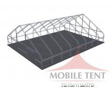 Арочный ангар 30х40 м Схема 5