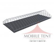Арочный ангар 40х100 м Схема 5