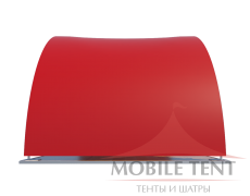 Арочный шатер 10х5 - 50 м² Схема 1