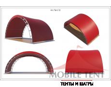 Арочный шатер 10х5 - 50 м²