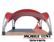 Арочный шатёр 10х10 — 100 м² Схема 3