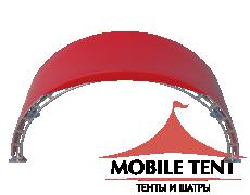 Арочный шатёр 10х3 — 30 м² Схема