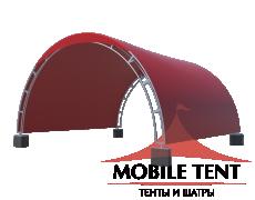 Арочный шатёр 16х16 — 256 м² (B) Схема 4