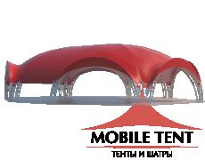 Арочный шатёр 18х15 — 241 м² Схема 3