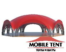 Арочный шатёр 21х15 — 287 м² Схема 2