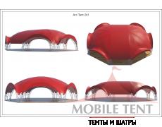 Арочный шатёр 22х20 — 360 м² Схема 4