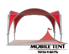 Арочный шатёр 5х5 — 25 м²(V) Схема 1