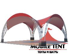 Арочный шатёр 6х6 — 36 м² Схема 2