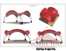 Арочный шатёр 8х8 — 64 м² Схема 5
