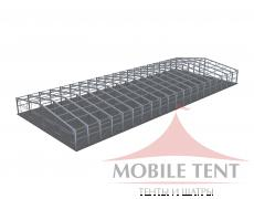 Каркасный ангар 40х100 м Схема 5