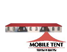 Большой шатер 10х25 Схема 3
