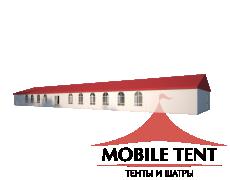 Классический шатёр 10х40 Схема 1